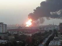 Взрыв на заводе в Азербайджане