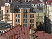 Городские крыши в районе Покровки, Москва