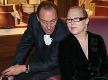 Олег Янковский с супругой Людмилой
