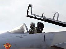 Кабина истребителя ВМС США