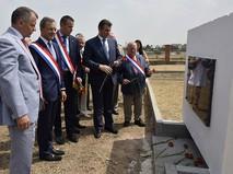 Делегация французских парламентариев, прибывшая с визитом в Севастополь