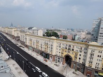Улица Тверская после реконструкции