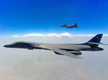Бомбардировщики ВВС США B-1 Lancer