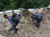 Спасатели в Непале