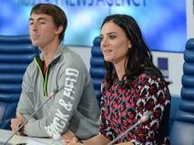 Сергей Шубенков и Елена Исинбаева