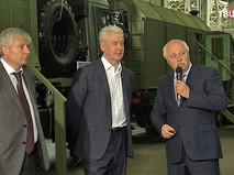 Сергей Собянин в Лианозовском электромеханическом заводе