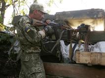 Солдат вооруженных сил Украины
