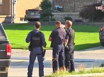 Полиция Канады на месте происшествия