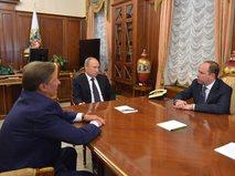 Сергей Иванов, Владимир Путин и Антон Войно (слева направо)
