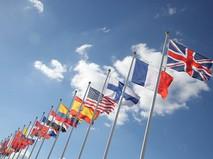 Флаги стран-участниц Олимпиады