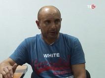 Задержанный сотрудник ГУР МО Украины Андрей Захтей