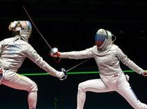 Ольга Харлан (Украина) (слева) и Юлия Гаврилова (Россия) в финальном поединке