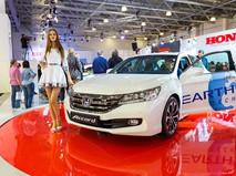Honda Accord. Московский международный автомобильный салон 2014