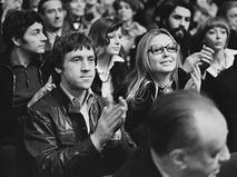 Владимир Высоцкий и Марина Влади в зрительном зале