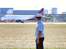 Транспортная полиция в аэропорту