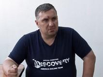 Подозреваемый в подготовке терактов в Крыму Евгений Панов во время допроса