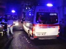 Скорая помощь Турции на месте происшествия