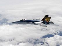 Истребитель F/A - 18 ВВС Швейцарии