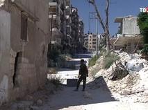 Разминирование жилого квартала города Алеппо, Сирия