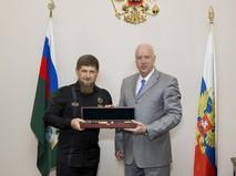 Рамзан Кадыров и Александр Бастрыкин