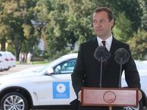 Дмитрий Медведев поздравляет победителей Олимпиады-2016