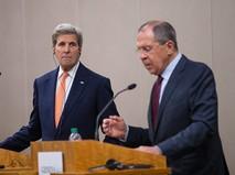 Глава МИД России Сергей Лавров и государственный секретарь США Джон Керри