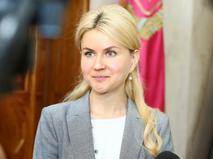 Исполняющая обязанности губернатора Харьковской области Юлия Светличная