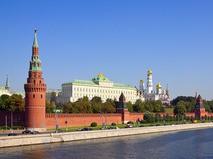 Вид с Москвы-реки на Кремль
