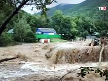 Последствия наводнения в Приморье