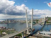 """Мост """"Русский"""" во Владивостоке"""