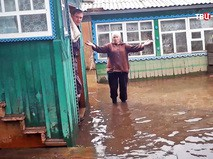 Жители в зоне паводка
