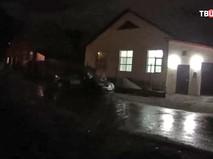 Место стрельбы в Екатеринбурге