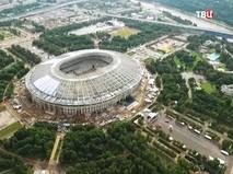 Реконструкция стадиона Лужники