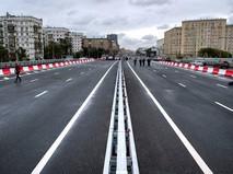 Открытие движения по Волоколамскому автодорожному путепроводу
