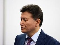 Глава ФИДЕ Кирсан Илюмжинов