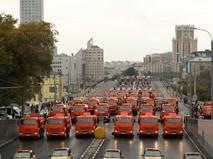 Первый парад городской спецтехники