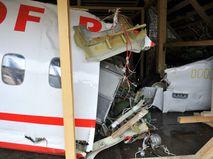 Обломки авиалайнера Ту-154М