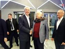 Сергей Собянин и Олег Табаков