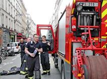Спасатели во Франции