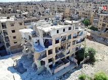Последствия военных действий в Алеппо