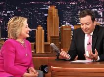 Хиллари Клинтон на телешоу