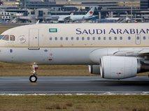 Самолет Saudi Arabia Airlines