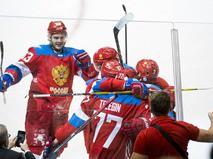Сборная России на Кубке мира по хоккею в Торонто