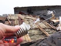 Свалка ртутных ламп в центре Воркуты