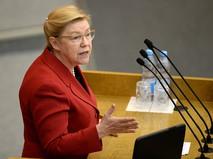 Председатель комитета ГД по вопросам семьи, женщин и детей Елена Мизулина