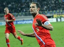 Роман Широков в форме сборной России по футболу