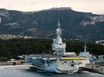 """Авианосец ВМС Франции """"Шарль де Голль"""""""