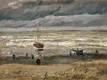 """Винсент Ван Гог """"Вид на море Схевенингена"""""""