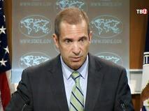 Пресс-секретарь госдепартамента США Марк Тонер