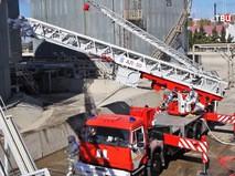 Пожарные учения на НПЗ